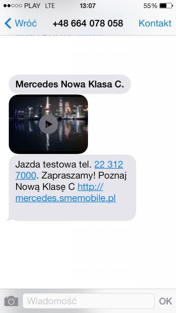 Screen Kampania MMS VIDEO MERCEDES 24032013